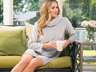 Softies: Velour Lounge Dress