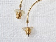 Chrysmela: Lock & Secure Earring Back with Lift