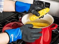 Grill Armor Gloves: Waterproof Heat-Resistant Cooking & Grilling Gloves