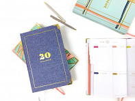 lake + loft: 2020 Inspirational Daily Planner