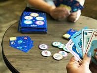 Battle Games: Golden Spoons Mission to Mars Card Game