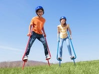 Amazing Featz: Kids Play Stilts