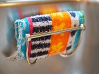 Magnetic Scrubbing Pad Sink Holder