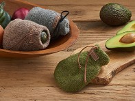 The Avocado Sock: Wool Avocado Ripener