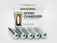 GrowlerWerks: Nitro Cold Brew Chargers 5-Pack