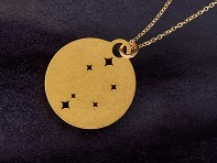Outdoor Metalworks: Zodiac Constellation Necklace