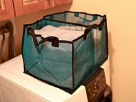 The BetterBasket: 2 Compartment Laundry & Utility Basket
