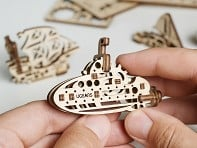 UGEARS: Mini Wooden Model Building Kit