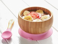 Bamboo Suction Baby Bowl & Spoon