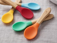 Avanchy: Bamboo Baby Spoons - 5 Pack
