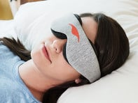 Manta Sleep: Modular Black Out Eye Mask