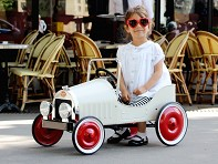 Baghera: Classic Pedal Car for Kids