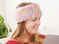 Headache Hat: Go Wearable Ice Pack