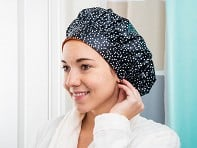 TIARA Shower Cap®: Terry-Lined Shower Cap