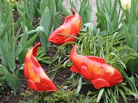 Fish In The Garden: Medium Garden Koi - Set of 3