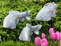 Large Garden Koi - Set of 3