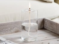 Pillar Glass Oil Candle