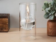 Transcend Glass Oil Lamp