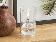 Ethereal Glass Oil Lamp