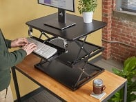 Multi-Level Adjustable Standing Desk
