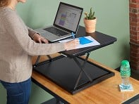 Single-Level Adjustable Standing Desk