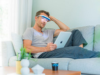 Luminette: Blue-Enriched White Light Therapy Glasses