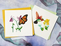Handcrafted Quilled Card - Animals & Wildlife