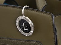 Key Purse Hanger with Monogram