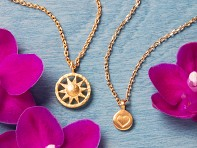 Satya Jewelry: Spiritual Symbol Necklace