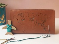 Chasing Threads: Stitch-Your-Travels Leather Wallet