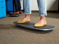 FluidStance: Level Standing Desk Balance Board