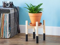 Hold on to Your Plants: Handcrafted Modern Wood Plant Stand