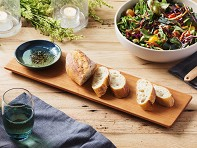 Sabbath-Day Woods: Bread Serving Board & Dipping Bowl