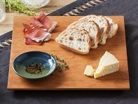 Sabbath-Day Woods: Square Serving Board & Dipping Bowl
