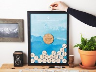 Wanderlist Drop Box Frame
