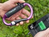re-fuel: Carabiner Power Bank