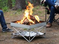 Fireside Outdoor: Pop-Up Pit Portable Fire Pit