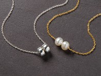 Becoming Jewelry: Modern Friendship Necklace