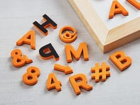 The Type Set Co.: Modern Magnetic Letters