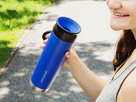 WOW GEAR: 360o Stainless Steel Water Bottle