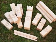 Personalized Premium Kubb Game Set