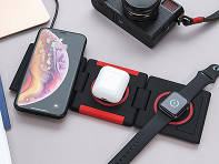 Ampere: Unravel 3-Panel Wireless Charging Pad