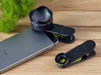 Black Eye: Clip-On Smartphone Lens