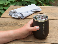 BrüMate: Stainless Steel Insulated Wine Glass
