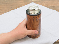 BrüMate: Hopsulator Stainless Steel Beer Can Cooler
