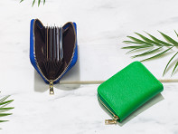 Em John: Mini Zip-Around Card Wallet