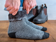 Heat Holders?: Men's Brushed Thermal Socks