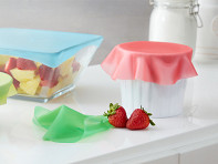Food Guard: Silicone Stretch Lids - 5 Pack