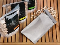 The Smokist?: Smoking Pouch & Wood Chips Set