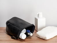 Capra Leather: Leather Toiletry Bag